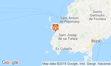 Kaart Cala Tarida Appartement 118637
