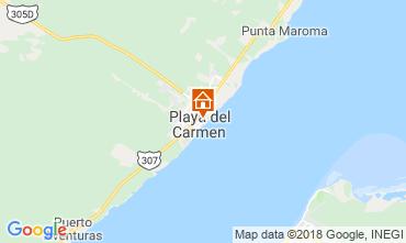 Kaart Playa del Carmen Studio 116454