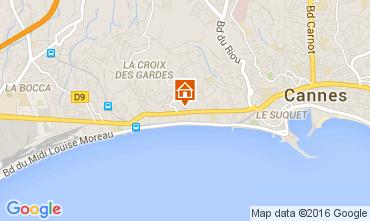 Kaart Cannes Appartement 88211
