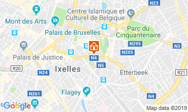 Kaart Brussel Appartement 119925