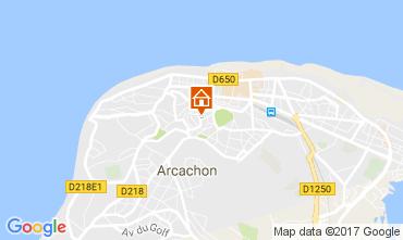 Kaart Arcachon Appartement 109694