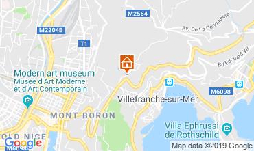Kaart Villefranche sur Mer Appartement 119303