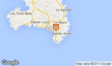 Kaart Sainte Anne (Martinique) Studio 84011