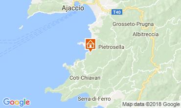 Kaart Porticcio Villa 114573
