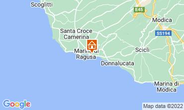 Kaart Marina di Ragusa Appartement 30110