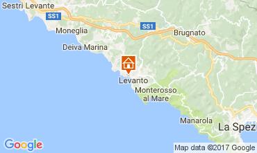 Kaart Levanto Appartement 75601