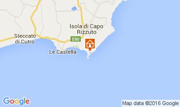 Kaart Isola di Capo Rizzuto Appartement 81850