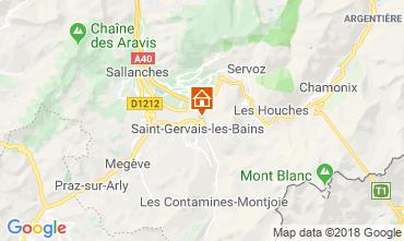 Kaart Saint-Gervais-les-Bains Appartement 117068
