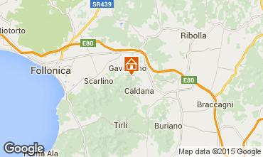 Kaart Gavorrano Villa 80762