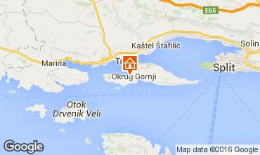 Kaart Trogir Villa 102884