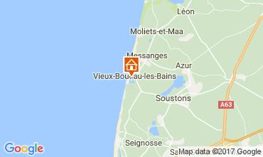 Kaart Vieux Boucau Appartement 72746