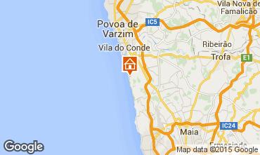 Kaart Vila do Conde Appartement 101359