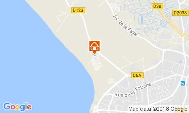 Kaart Saint-Gilles-Croix-de-Vie Stacaravan 22187