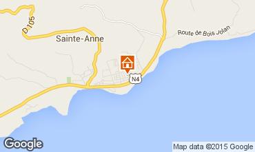 Kaart Sainte Anne(Guadeloupe) Appartement 66397