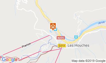 Kaart Chamonix Mont-Blanc Studio 117797