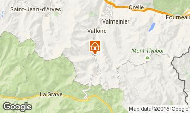 Kaart Valloire Appartement 3378