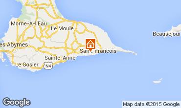 Kaart Saint Francois Villa 81102