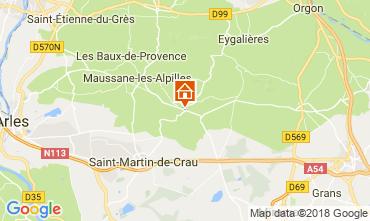 Kaart Les Baux de Provence Vakantiehuis 114985
