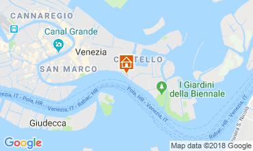 Kaart Venetië Appartement 86011
