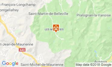 Kaart Les Menuires Appartement 116904