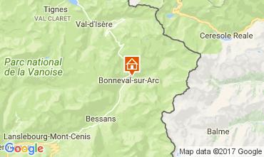 Kaart Bonneval sur Arc Chalet 58421