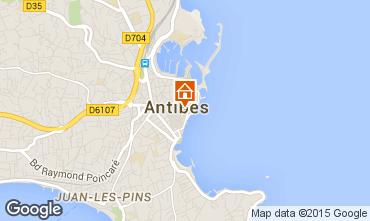 Kaart Antibes Appartement 79579