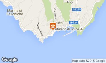 Kaart Santa Maria di Leuca Appartement 35046