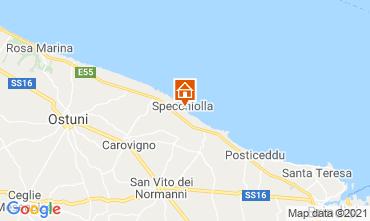 Kaart Ostuni Villa 95250