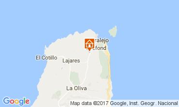 Kaart Corralejo Villa 31314
