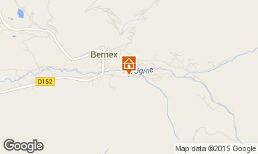 Kaart Bernex Chalet 4880