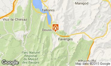 Kaart Annecy Vakantiehuis 101226