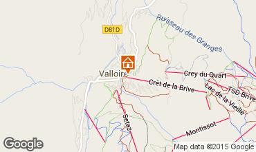 Kaart Valloire Appartement 63867