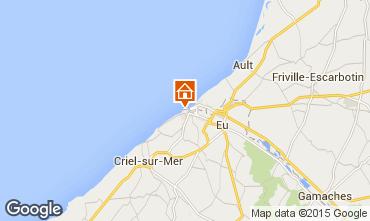 Kaart Le Tréport Huis 16976