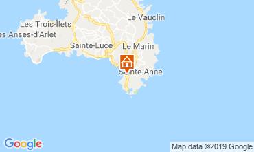 Kaart Sainte Anne (Martinique) Appartement 60946