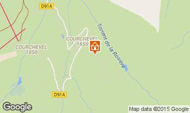 Kaart Courchevel Appartement 73734