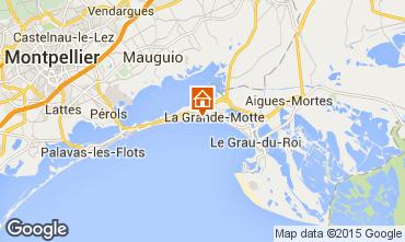 Kaart La Grande Motte Studio 67260