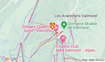 Kaart Valmorel Appartement 16260