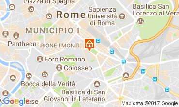 Kaart Rome Appartement 107379