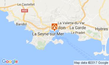 Kaart Toulon Studio 32099