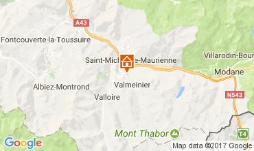 Kaart Valloire Vakantiehuis 111546