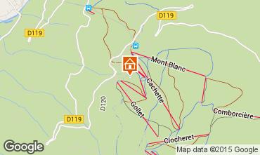 Kaart Les Arcs Chalet 320