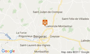 Kaart Bergerac Vakantiehuis 107715