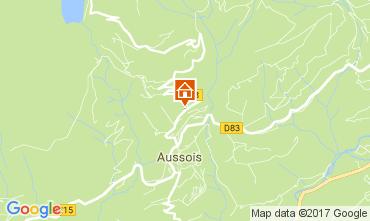 Kaart Aussois Appartement 111552