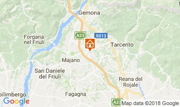 Kaart Udine Huis 84288