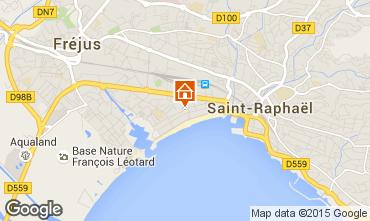 Kaart Fréjus Appartement 63847