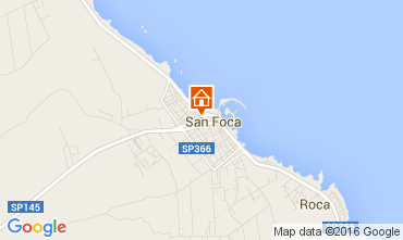 Kaart San Foca Appartement 90834