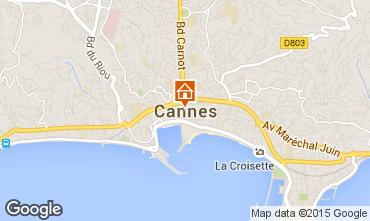 Kaart Cannes Appartement 17381