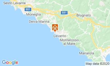 Kaart Bonassola Appartement 27353