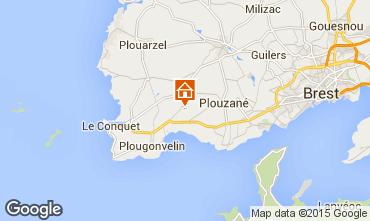Kaart Locmaria-Plouzané Appartement 90722