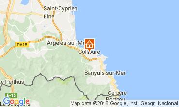 Kaart Collioure Appartement 113025